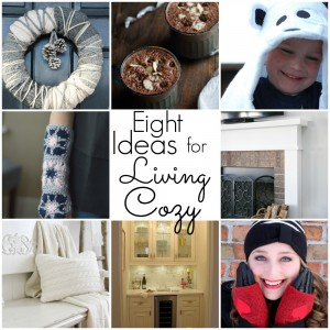 eight ideas for living cozy