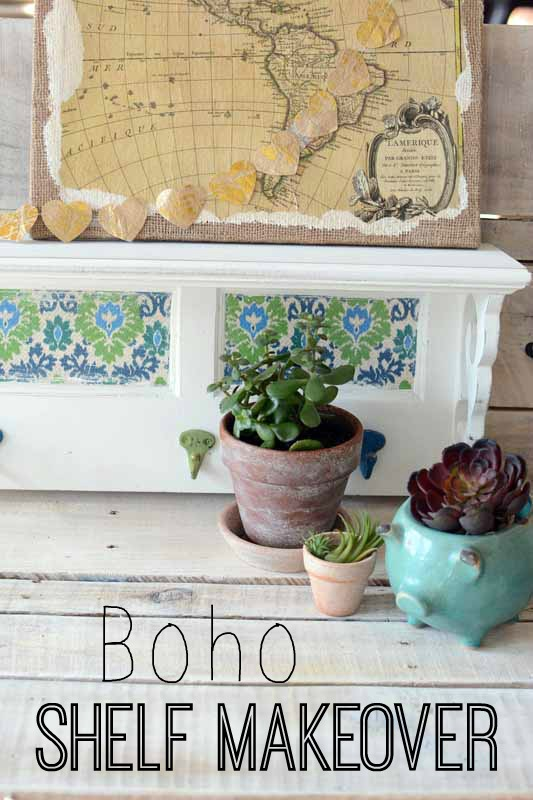 boho-shelf-makeover