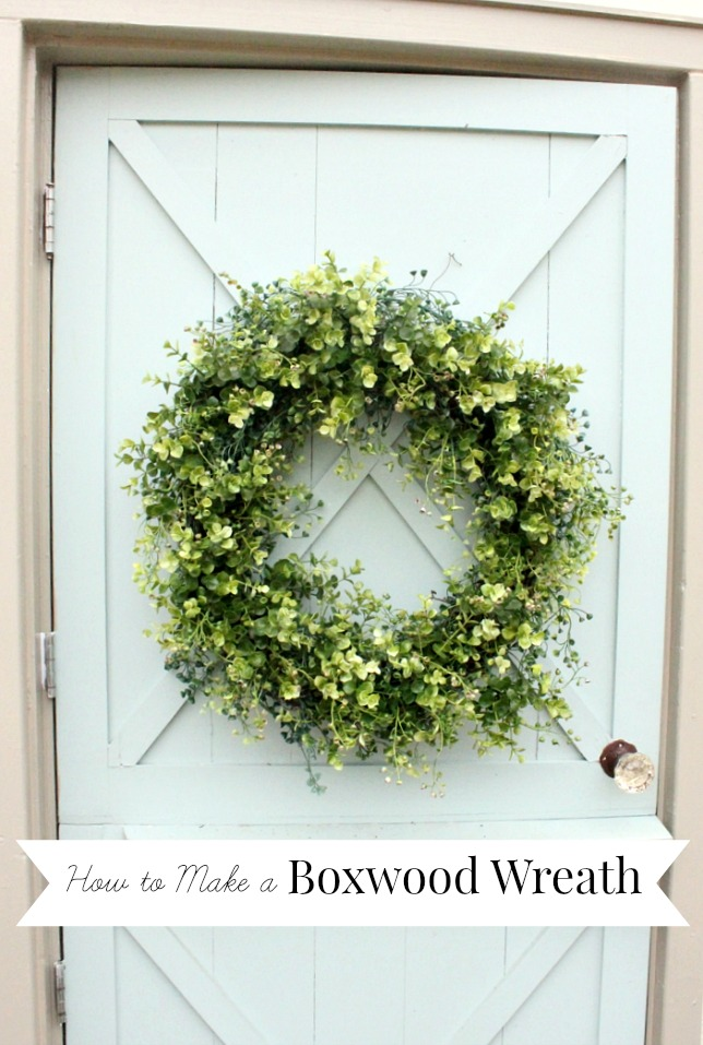 how-to-make-a-boxwood-wreath