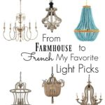 Farmhouse to French Lighting