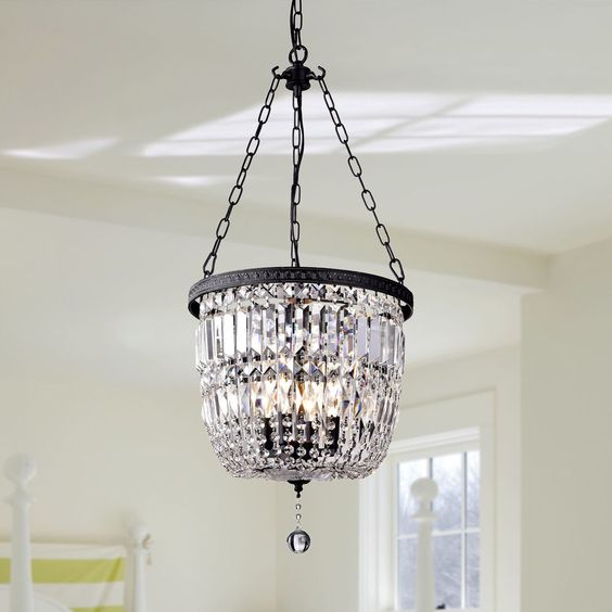 Crystal Chandelier Youtube: Farmhouse To French Lighting-My Faves