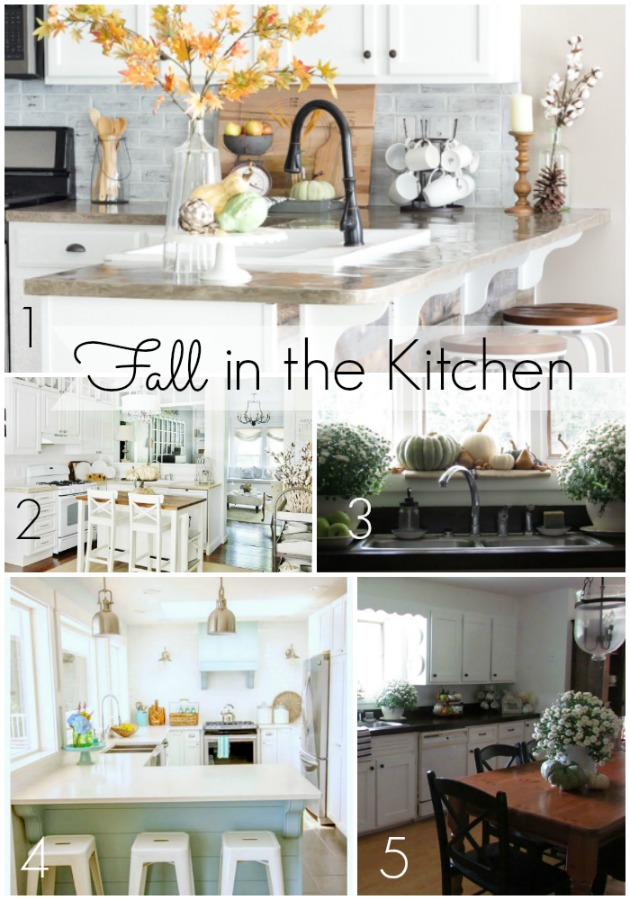 Fall Home Projects in the Kitchen