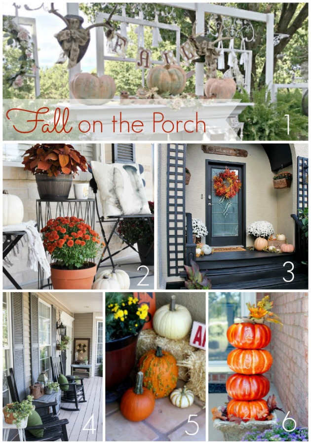 Fall Home Projects on the Porch