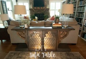 Sofa Table-Mike's at it again