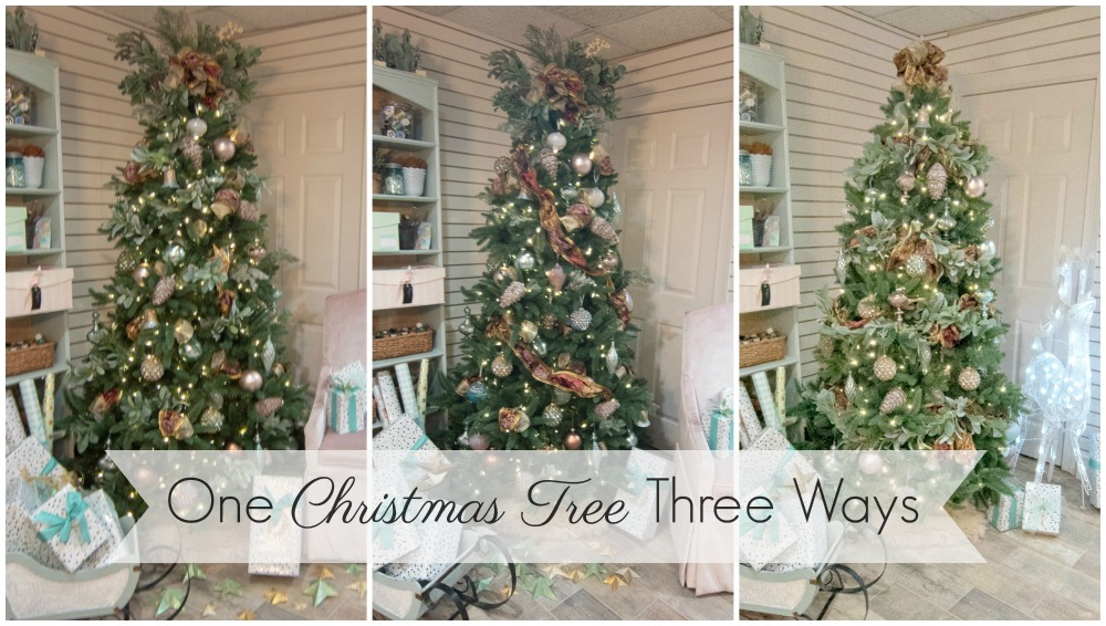 One Christmas Tree Three Ways