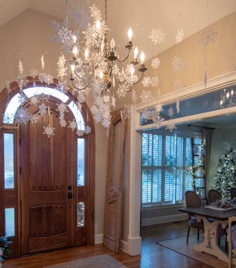 Hanging Snowflakes All Things Heart And Home